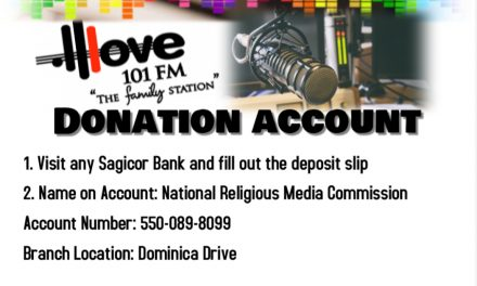 LOVE 101 FM's ACCOUNT INFORMATION.