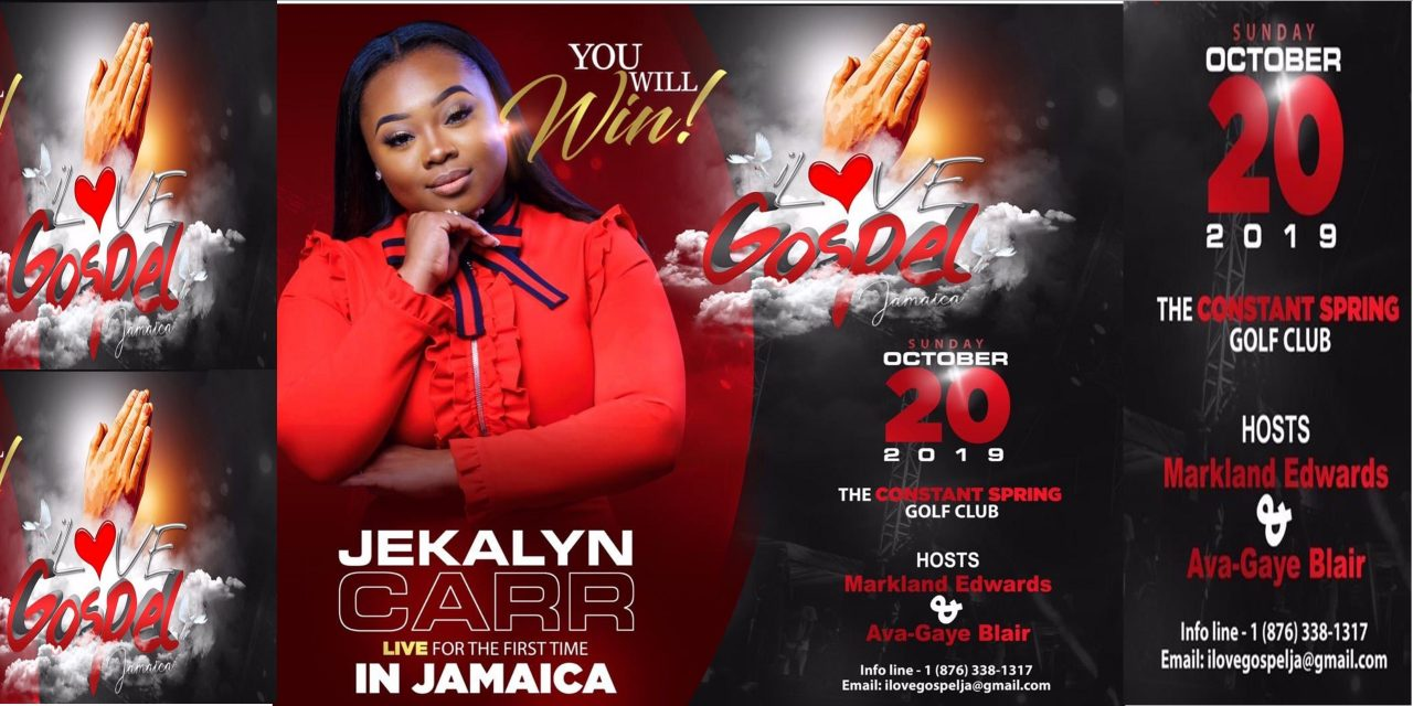 JEKALYN CARR  LIVE FOR THE FIRST TIME IN JAMAICA