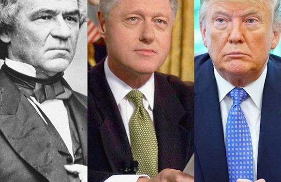 President Donald Trump is now the third president in US history to be impeached